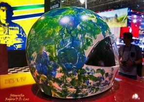 Salão Automoveis 2014 homenagem Ayrton Senna capacete Thiago Lacerda (11.1)