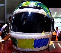 Salão Automoveis 2014 homenagem Ayrton Senna capacete Thiago Lacerda (11)