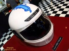 Salão Automoveis 2014 homenagem Ayrton Senna capacete Zezão (15)