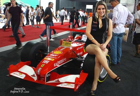 Salão Automovel 2014 carros competição Ferrari F1 (02)