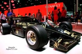 Salão Automovel 2014 carros competição Lotus 95T Ayrton Senna (01)