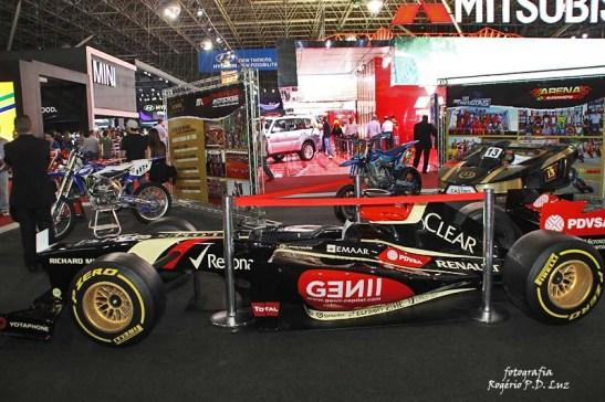 Salão Automovel 2014 carros competição Lotus F1 (02)
