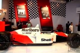 Salão Automovel 2014 carros competição McLaren MP4.8 1993 (03)