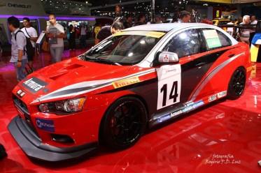 Salão Automovel 2014 carros competição Mitsubishi Lancer (01)