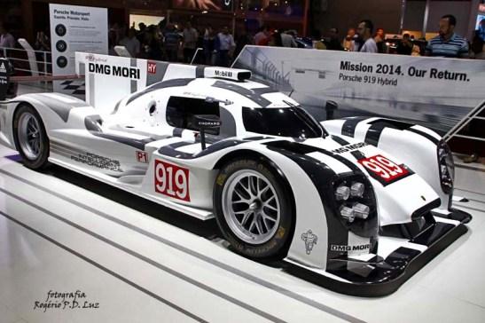 Salão Automovel 2014 carros competição Porsche 919 hpibrido (01)