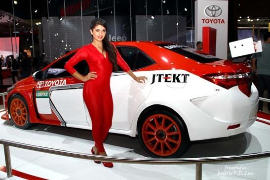 Salão Automovel 2014 carros competição Toyota Corolla (01)