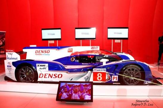 Salão Automovel 2014 carros competição Toyota TS040 híbrido (02)