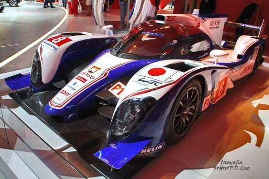 Salão Automovel 2014 carros competição Toyota TS040 híbrido (05)