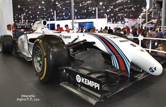 Salão Automovel 2014 carros competição Williams F1 (01)
