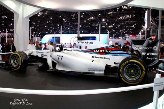 Salão Automovel 2014 carros competição Williams F1 (02)