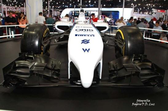Salão Automovel 2014 carros competição Williams F1 (05)