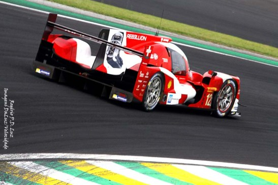 O protótipo Rebellion R-One Toyota é da categoria LMP1-L
