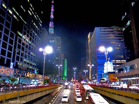 Avenida Paulista by night no Natal