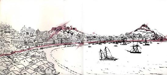 Ilustração de Carlos Marreiros, 1985. Fonte: o livro em assunto