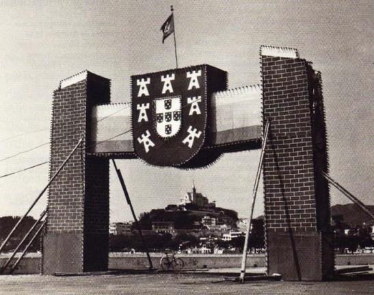 Macau padrão comemorativo 5 outubro república portuguesa