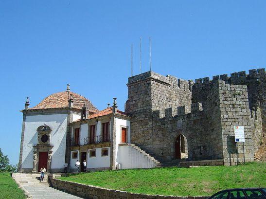 Portugal Sta._Maria_da_Feira castelo