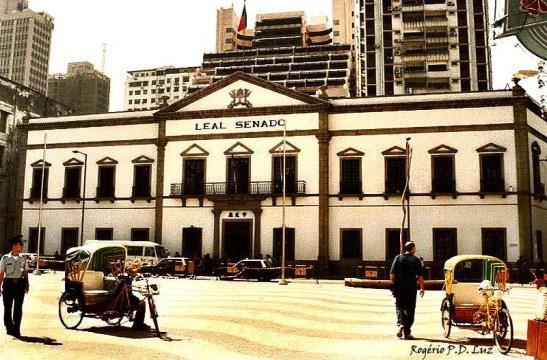 Macau 1993, antes da transição de soberania para a China