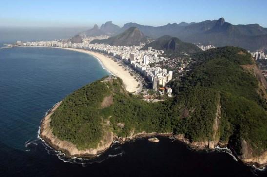 Praia de Copacabana. De Fotos Públicas, foto de Ricardo Zerrner/Riotur