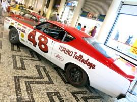 Ford Torino Talladega que disputa a Copa Classic de carros históricos