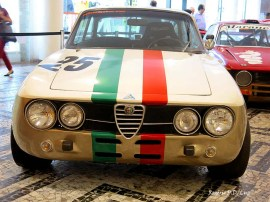 Alfa Romeo Giulia GTA 1750 que disputava corridas nos anos 70
