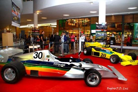 Fittipaldi FD-01, o pioneiro F1 brasileiro em 1º plsno e o FD-04