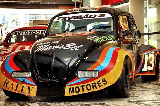 O Divisão 3 de Orlando Belmonte Jr restaurado do carro original que lhe pertencia