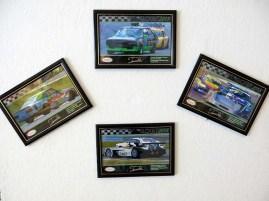 Exposição de fotos do automobilismo nacional do Dê Machado