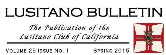 Lusitano Spring Bulletin 2015