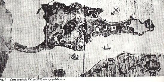 Origem: livro Fortificações de Macau