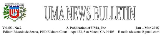 UMA News Bulletin Jan-Mar 2015