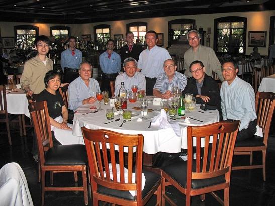 Alou Alex Airosa Visita jornalistas chineses em 16.05.2007
