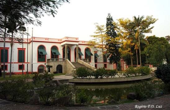 O palacete ocupado pela Fundação Oriente em 2007