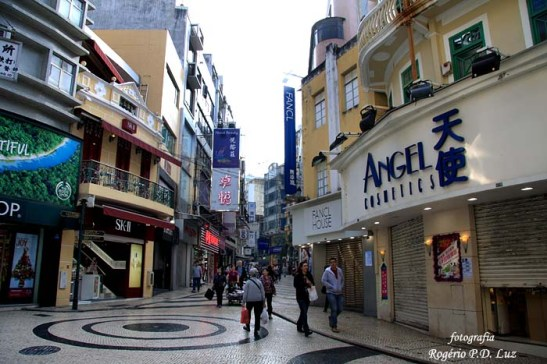 Rua de São Domingos e região em 2010