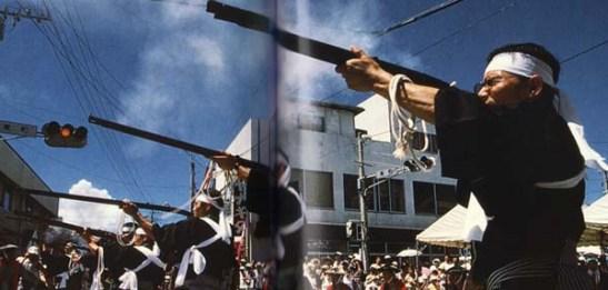Festival da Espingarda em Tanegashima (foto de Leong Ka Tai)