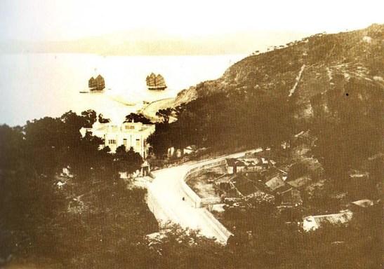 Santa Sancha em 1925