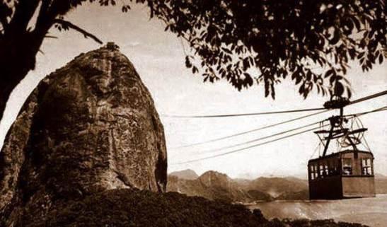 Historia bondinho Pao Acucar Rio Janeiro 01