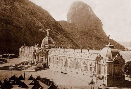 Pavilhão das Indústrias na Exposição Nacional de 1908