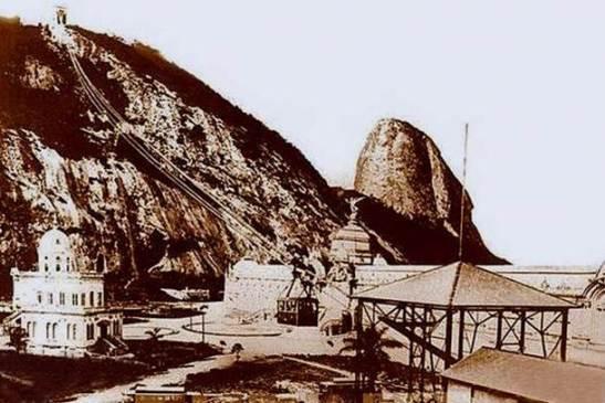 Historia bondinho Pao Acucar Rio Janeiro 12