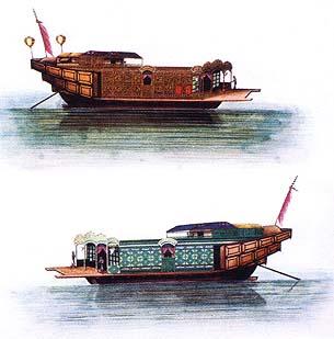 Barcos de Flores (imagem do livro Na Afirmação de uma Identidade)