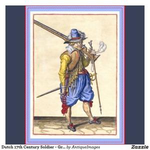 soldado holandês do século XVII