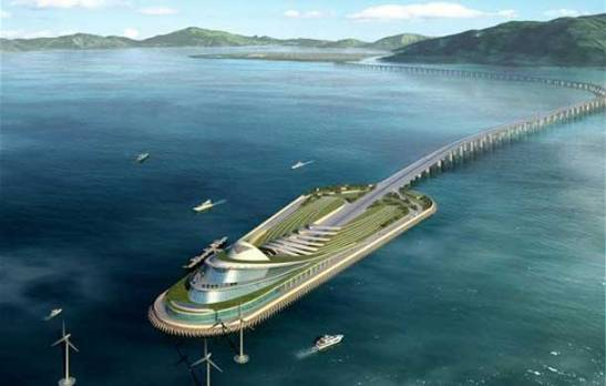 Macau ponte Hong Kong Zhuhai Macau 3