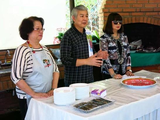 Da direita: Yolanda, Rolando e Natércia