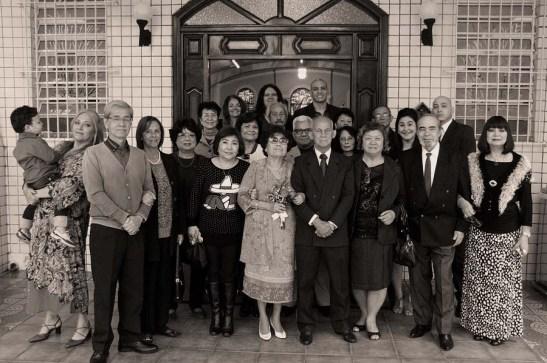 Tal como as fotos antigas de casamento de Macau nos até os anos 60, em preto&branco.