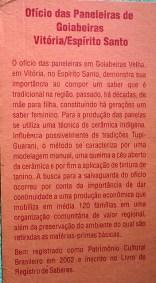 Patrimonio Imaterial Brasileiro.40