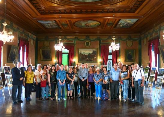 Expo Macau em Santos comitiva CMSP