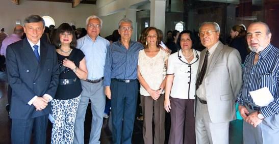 Foto do grupo da comunidade macaense de São Paulo, com a presença do autor deste blog e tirada pela esposa Mia