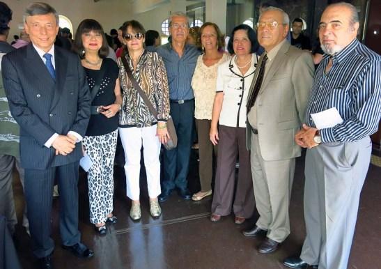 Foto do grupo da comunidade macaense de São Paulo, tirada pelo autor deste blog