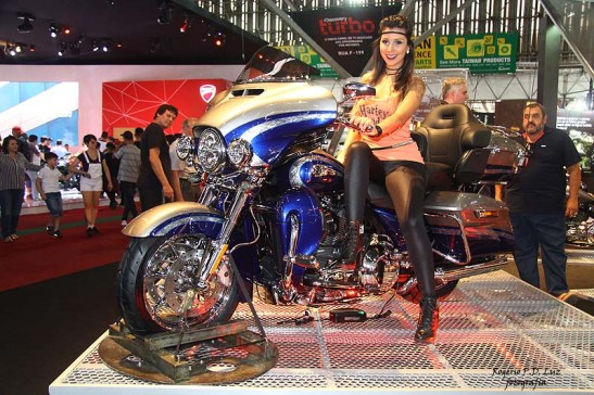 Salao 2 Rodas 2015 . Harley Davidson 02