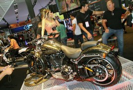 Salao 2 Rodas 2015 . Harley Davidson 10.1