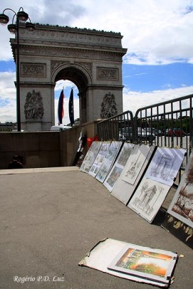 Paris - Arco de Triunfo 21